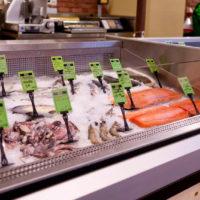 Холодильні вітрини ждля риби та морепродуктів
